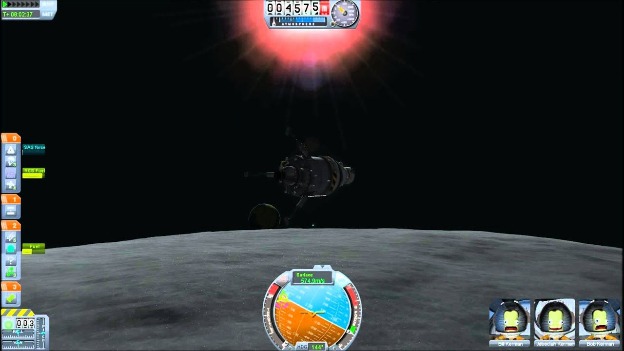 kerbal space program mun landing-#19