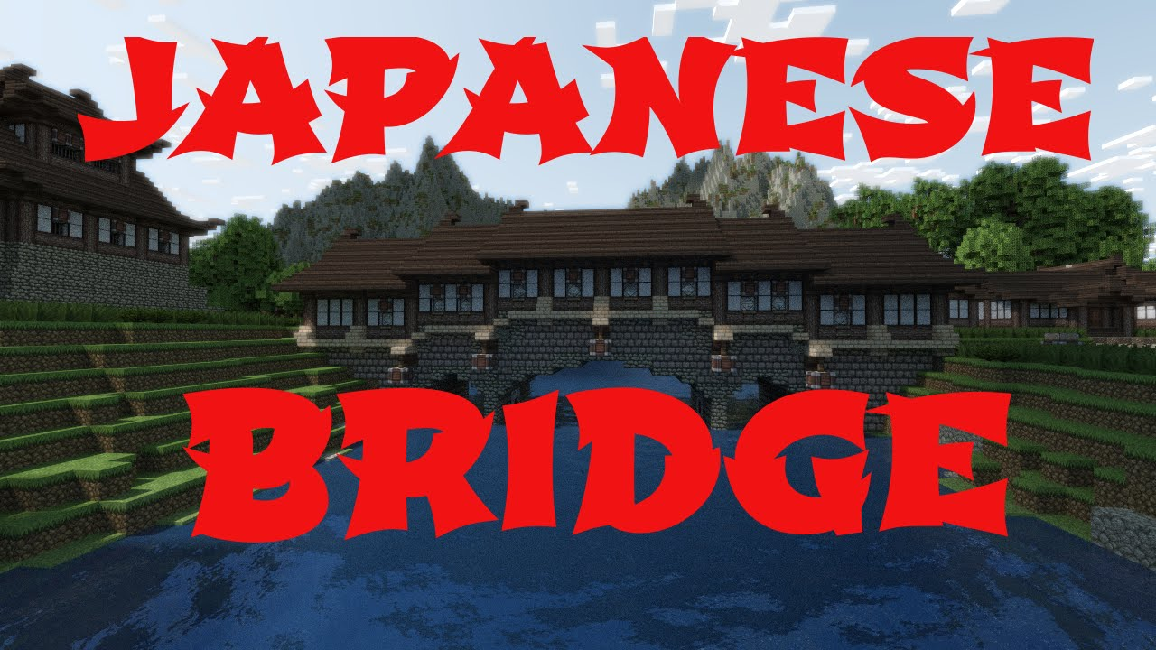 Minecraft Japanese Bridge
