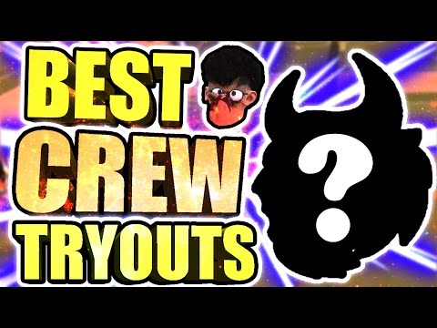 ULTIMATE SUPER CREW TRYOUTS OMG • HANKDATANK25 FINALLY MADE A CREW + HOW TO PLAY w/ ME AND TRYOUT
