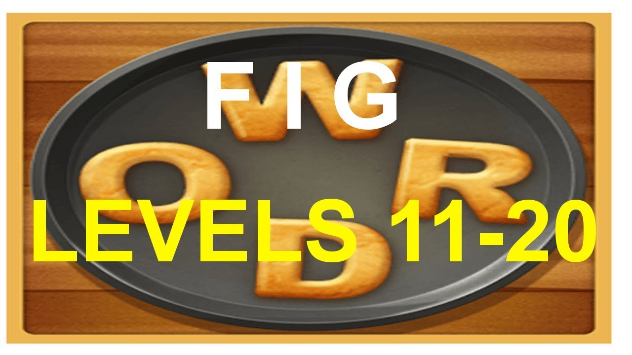 Word Cookies Fig Levels 11-20 answers - YouTube