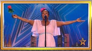 Una nigeriana se atreve a cantar copla… con pésimo resultado | Audiciones 4 | Got Talent España 2019
