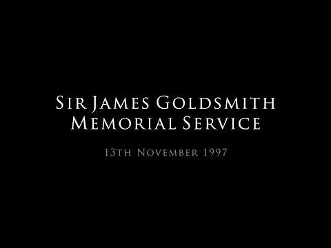 Sir James Goldsmith Memorial Service - 13.11.97