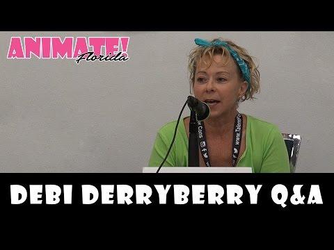 Debi Derryberry Q&A at Animate Florida 2016