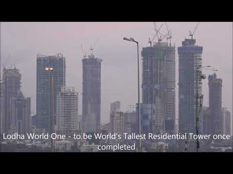 Awesome ! Mumbai's Everchanging Magnificient Skyline ! Tallest Buildings - Year 2017 !!!