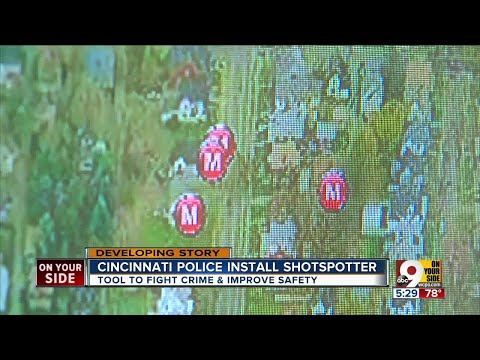 Cincinnati installing high-tech ShotSpotter system in Avondale