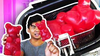 Do Not Deep Fry A GIANT GUMMY BEAR!
