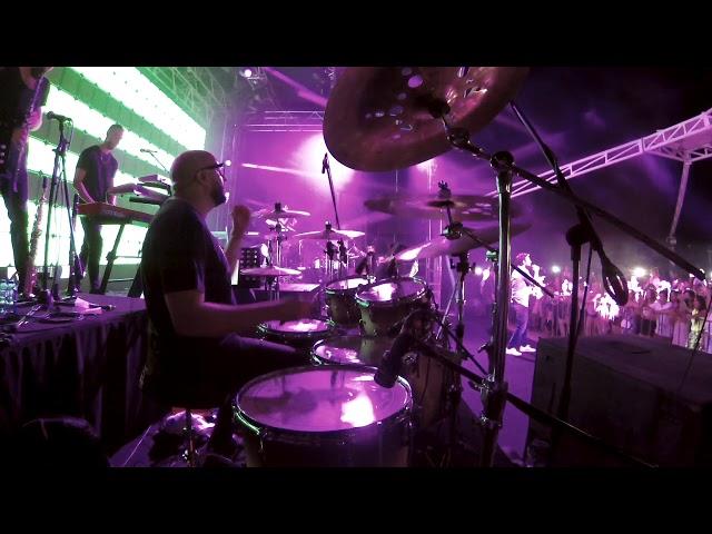 Doğaç Titiz - Drums DERİNE(COVER)-KIBRIS Concert  MURAT DALKILIÇ