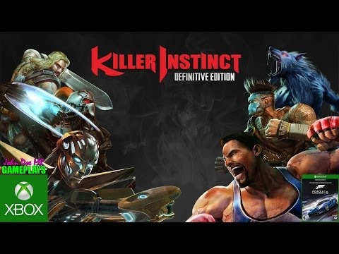 KILLER INSTINCT & FORZA 6 - XBOX ONE S - MICROSOFT - GAMEPLAY - JOHN DOE