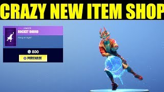 """Fortnite Item Shop February 4"" Rocket Rodeo Is back! FireWalk Skin, Scarlet Defender, New Wrap!!"