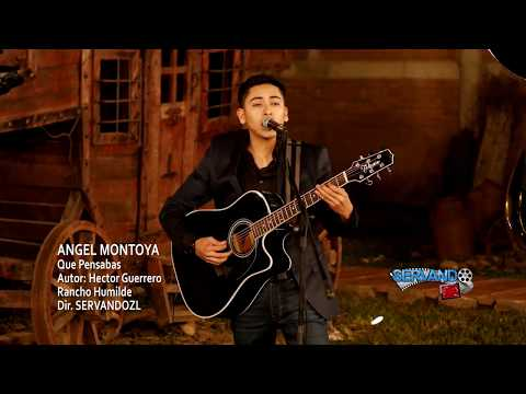 Angel Montoya - Que Pensabas (En Vivo 2018)