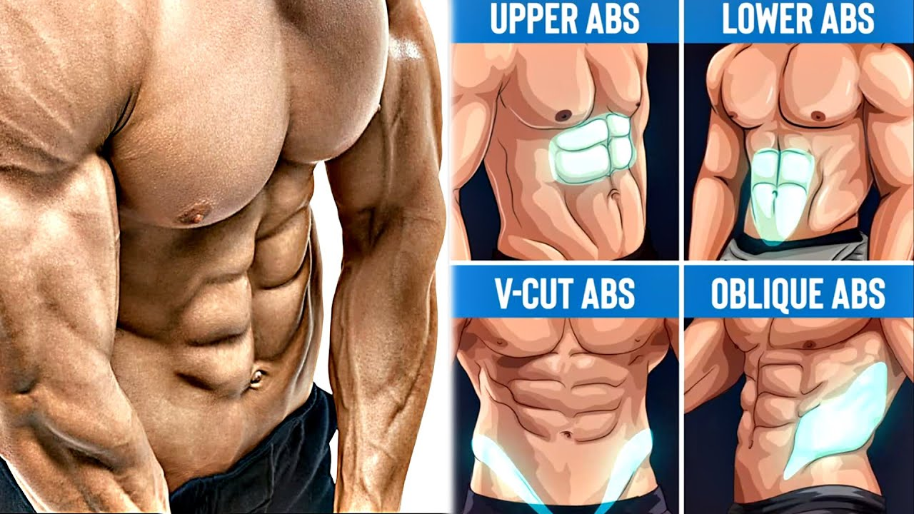 Best Abdominal Exercises 10 Ab Workout