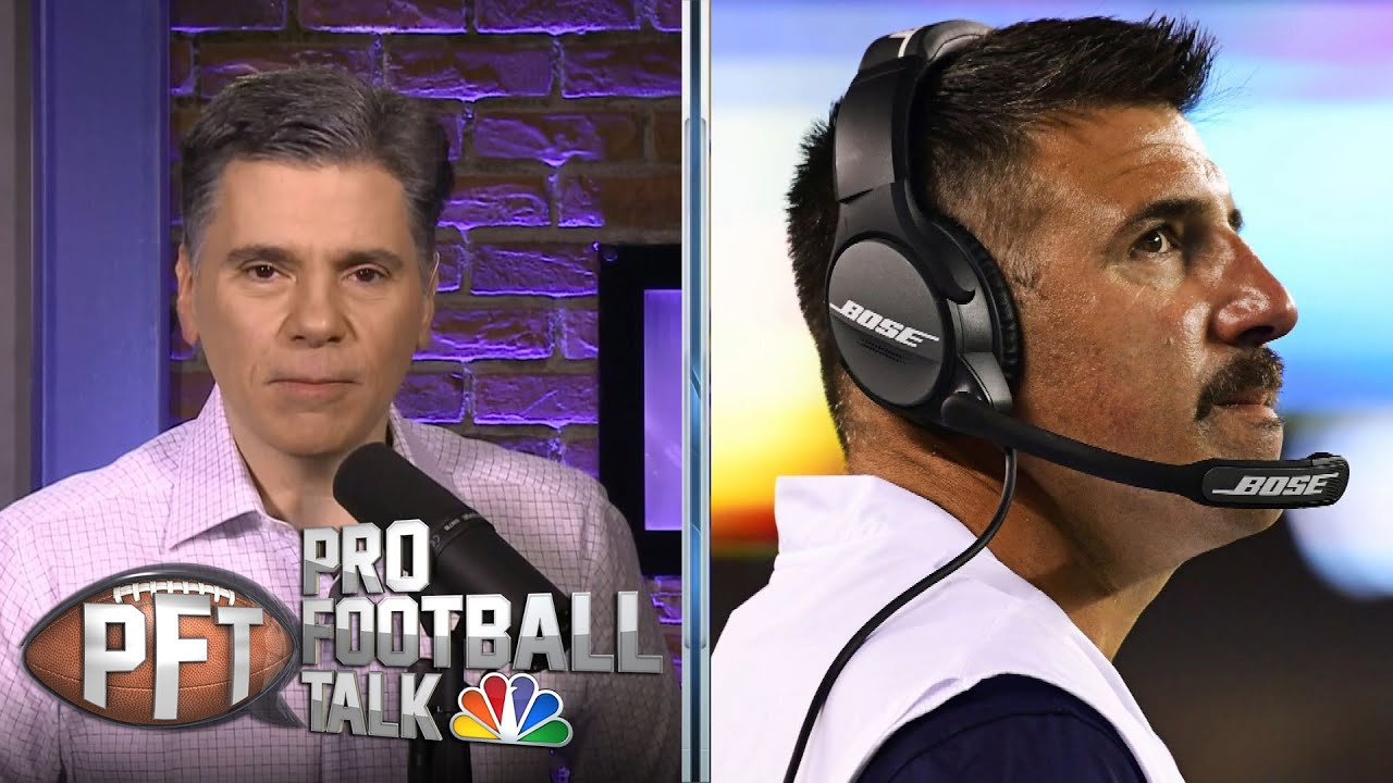 Mike Vrabel finds another loophole in rules to help Titans | Pro Football Talk | NBC Sports