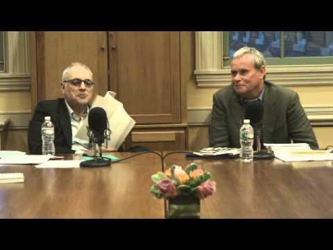 THE VERSATORIUM PLAYBOOK: Charles Bernstein & Peter Waterhouse | Woodberry Poetry Room