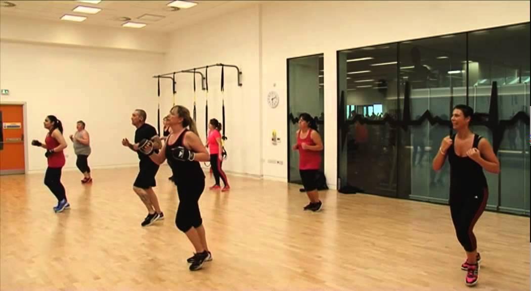 Fitness Class Body Combat