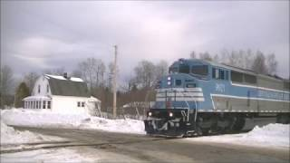 CMG Job 420 Arriving At Brownville Junction - 2/18/2017