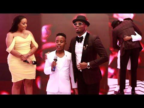 Download VIDEO: Mtoto wa UWOYA KRISH Amtaja Diamond, Ashindwa Kulala