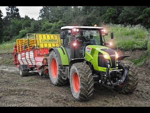 FARMERS GUARDIAN ON TEST: Claas Arion 460 | Doovi
