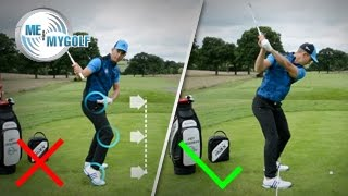 FIX YOUR HEEL STRIKE | GOLF SWING TIP
