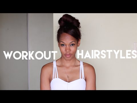 5 Sweat-Proof Workout/Yoga Hairstyles