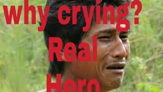 bidhyut debbarma, swapan debbarma crying.Tiprasa Swapan DebBarma.tripura trible hero ki man ki bidhy