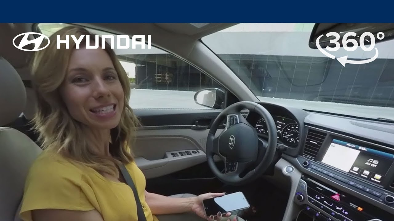 360 Interior Tour 2017 Hyundai Elantra Not Just New Better Youtube