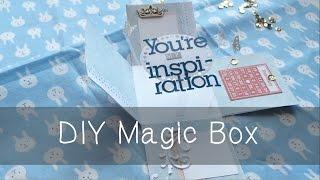 Мастер класс Magic Box   DIY Magic Box