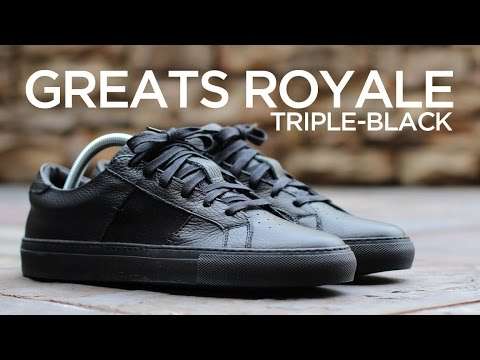 Closer Look: Greats Royale - Triple-Black
