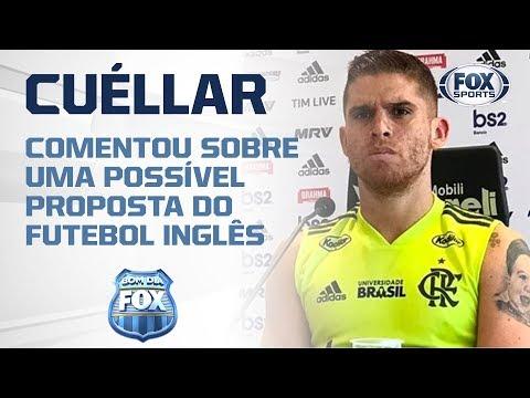 Cuéllar de saída do Flamengo?