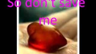 Marit Larsen - Don't Save Me (Lyrics)