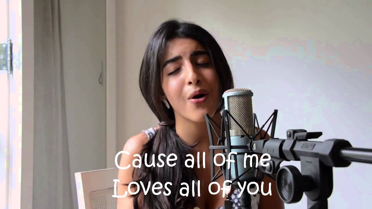 All Of Me Covered by Luciana Zogbi (Lyric Video)