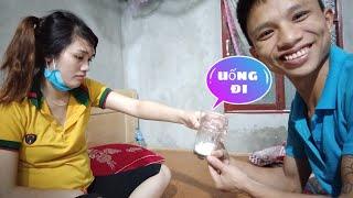 Tamlinhvlogs troll người yêu xin sữa uống , cặp đôi bá đạo