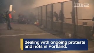 Portland police share their perspective on protests and riots