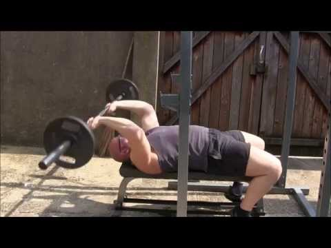 Jason Blaha Teaches You How To Perform A Triceps Extension Or Skullcrusher