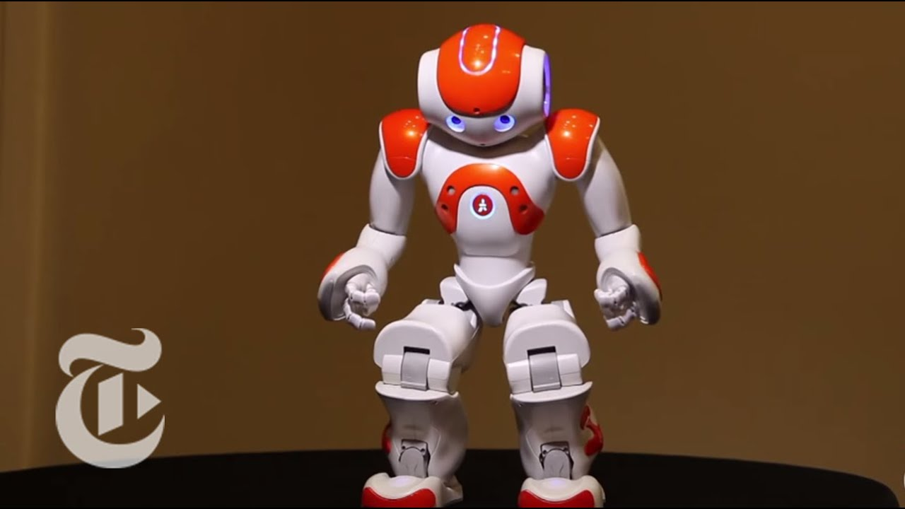 Robot humanoïde entièrement programmable