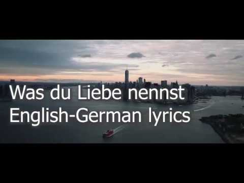 BAUSA- Was Du Liebe Nennst (English Translation and German Lyrics)