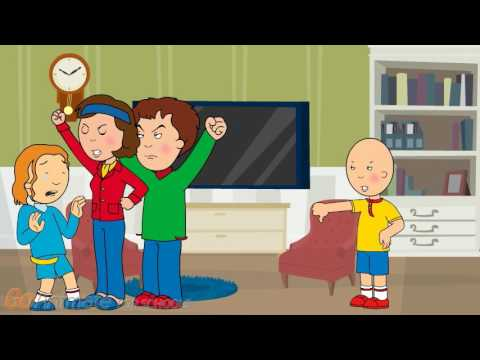 Caillou Becomes A Non Troublemaker Gets Ungrounded Rosie Gets Grounded Youtube