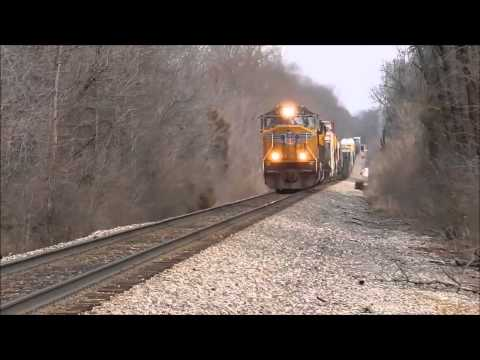 Alternate view of the train accident in Louisville, Kentucky