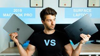SURFACE LAPTOP 3 VS 2019 MACBOOK PRO