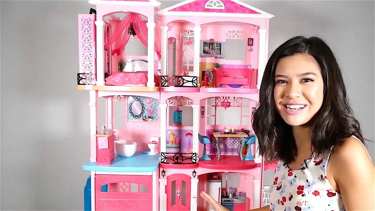 Barbie Toys For Girls : New house for barbie doll toys girls youtube