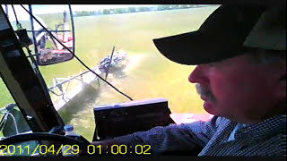 Sponge Weed Wiping with Custom Applicator in Oklahoma.wmv