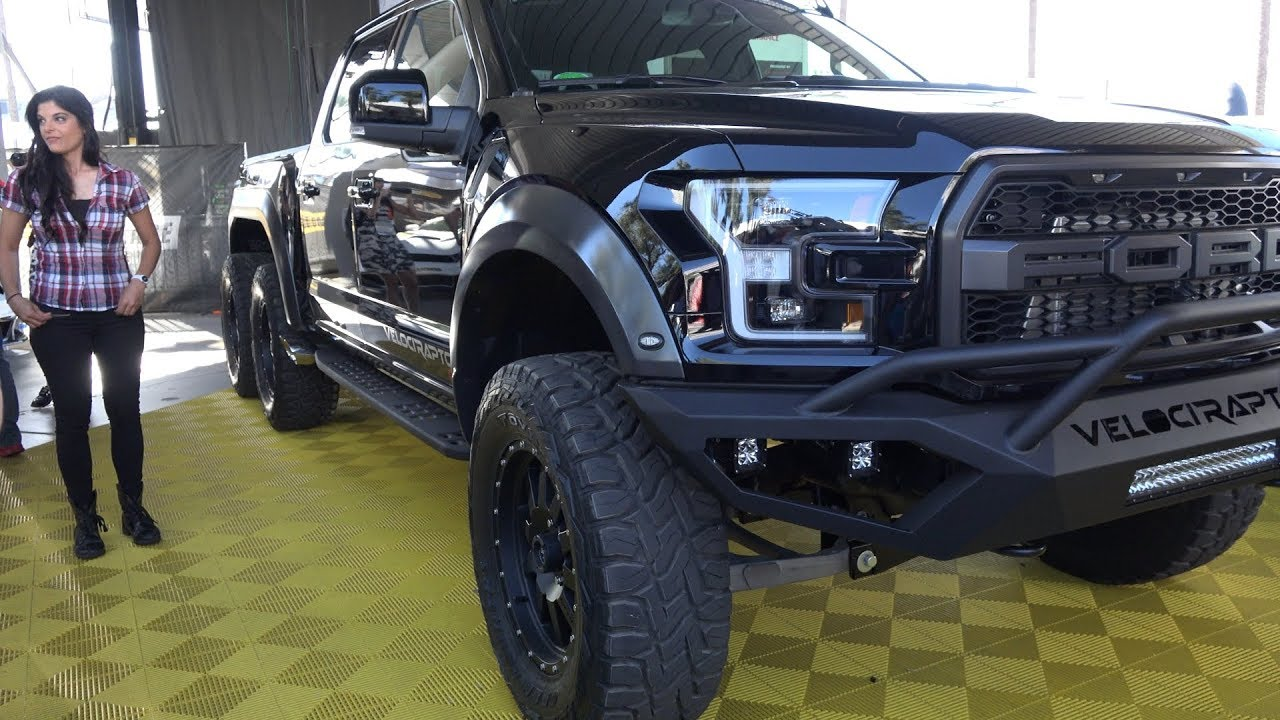 6 Wheel Drive 2018 Ford Raptor Truck Velociraptor