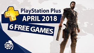 PlayStation Plus (PS+) April 2018
