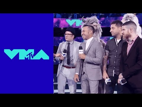 Fall Out Boy Red Carpet Interview | 2017 VMA Pre-Show | MTV