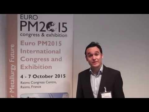 Dr José Garcia, Sandvik Coromant R&D, Euro PM2015 TPC Interview Video