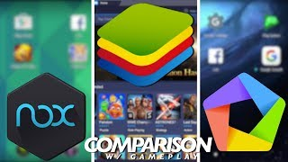 Bluestacks vs Nox vs Memu Comparison // Best Android Emulator on PC