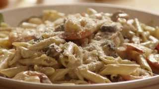 Pasta Recipes - How to Make Shrimp Alfredo