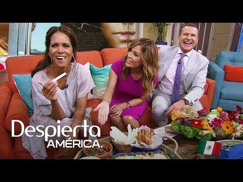 Halle Berry no podía de la emoción con este desayuno típico mexicano