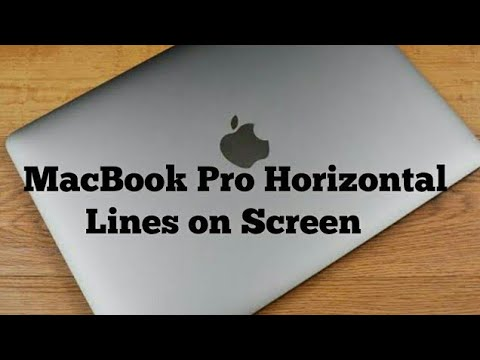 MacBook Pro Horizontal Lines on Screen (Solved)