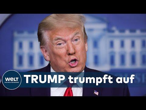 WELT THEMA: Trump jubelt - Lage am Arbeitsmarkt übertrifft totz Corona alle Erwartungen