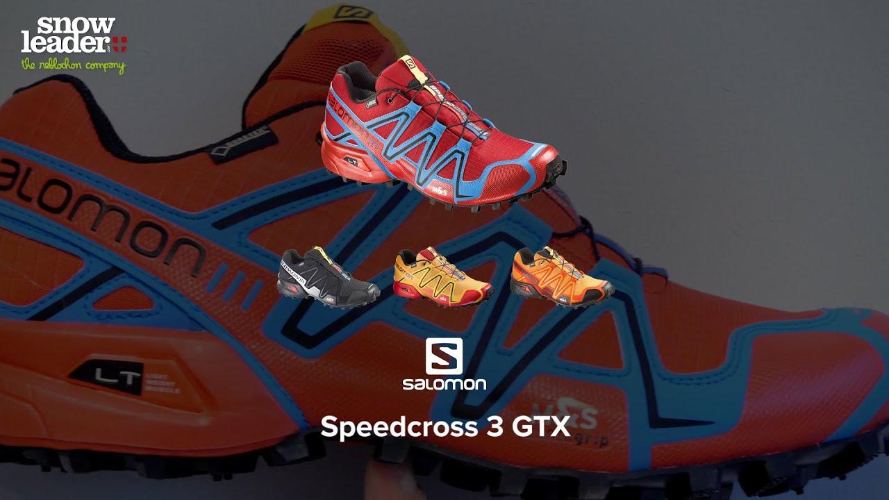 Salomon : Speedcross 3 GTX Chaussure de trail